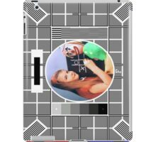 The Test Card 2 iPad Case/Skin