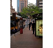 Maybe the next bus - Brisbane Photographic Print