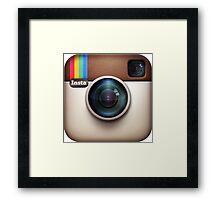 instagram Framed Print