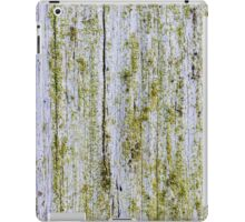 Upright board wall with white paint iPad Case/Skin