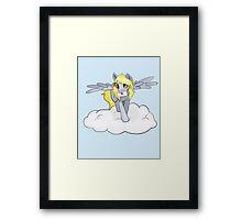 Derpy hooves cloud Framed Print