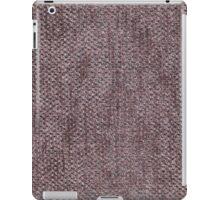 Short length brown furniture cover iPad Case/Skin