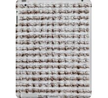 White and brown nodes iPad Case/Skin