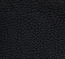 Black artificial furniture leather by Kristian Tuhkanen