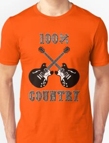 100% Country Music T-Shirt