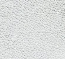 White artificial furniture leather by Kristian Tuhkanen