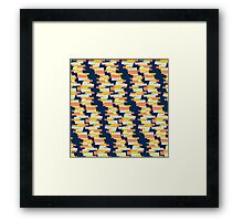 BP 62 Rectangle Stripes Framed Print