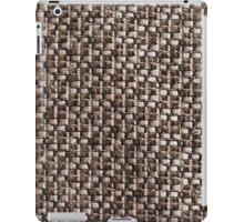 Light brown and dark brown fur iPad Case/Skin