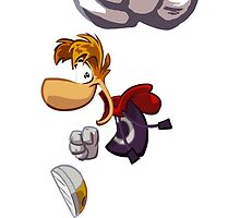 Rayman Jumping (Legends) by bubblelicious
