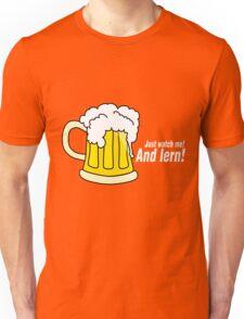 Beer white Unisex T-Shirt