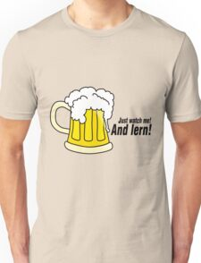 Beer black Unisex T-Shirt