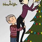 Decorating the Christmas tree by JessicaMariana