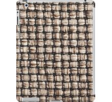 Thick white strings and thin black strings iPad Case/Skin
