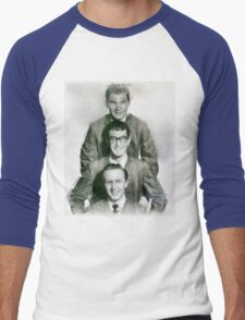 Buddy Holly and the Crickets by John Springfield Men's Baseball ¾ T-Shirt