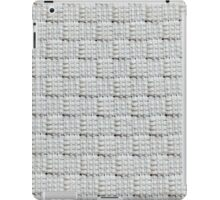 Thick and thin white strings iPad Case/Skin