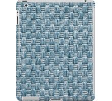 Blue and white strings iPad Case/Skin