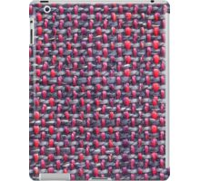 Thick white, red and blue strings iPad Case/Skin