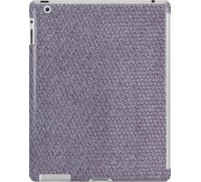 Short gray furry strings iPad Case/Skin
