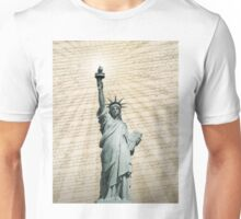 Liberty Loves The Constitution Unisex T-Shirt