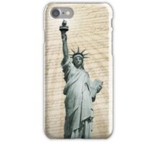 Liberty Loves The Constitution iPhone Case/Skin
