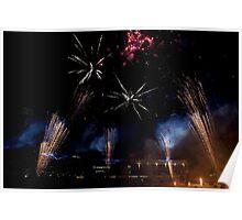 Royal Easter Show Fireworks 2014 Poster