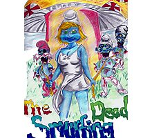The Smurfing Dead Photographic Print
