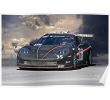 SCCA Corvette GT2 Poster