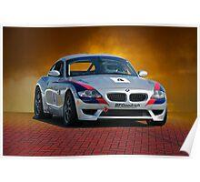 SCCA BMW GT3 Poster