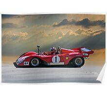 SCCA Ferrari 312 P Poster