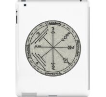 A Talisman to Enchant Treasures and Preserve Against Earthquakes  iPad Case/Skin