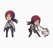 Tiny Tomb Raider A by ihatetombs