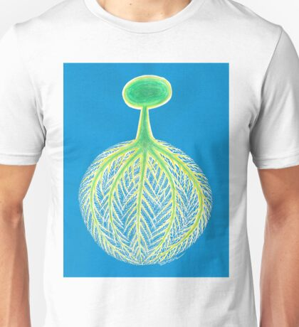 Tree,Roots and World. Unisex T-Shirt