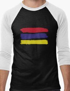 Hunt Stripes Men's Baseball ¾ T-Shirt