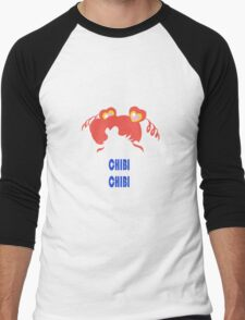 Chibi Chibi Men's Baseball ¾ T-Shirt