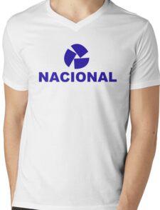 nacional 1 Mens V-Neck T-Shirt