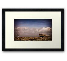 You Could Feel The Sky Framed Print