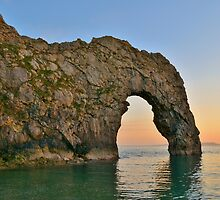 Durdle Door by Paula J James