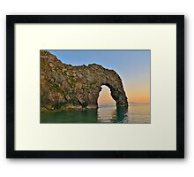 Durdle Door Framed Print