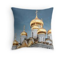 Kremlin Domes Throw Pillow