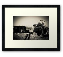 Throughway Framed Print