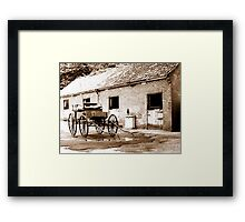 Where be there horses? Framed Print