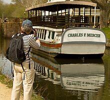Margan & the Canal Boat by Thad Zajdowicz
