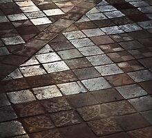 Sacred pavement, Abbaye de Royaumont, Val d'Oise, France by remos