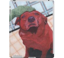red mike iPad Case/Skin
