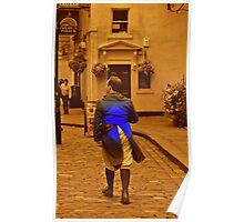 Man in Blue coat Poster