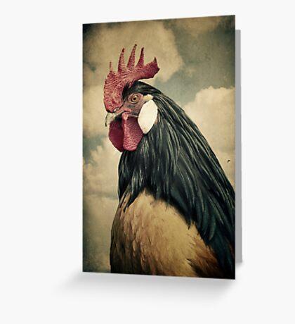 Cock Greeting Card
