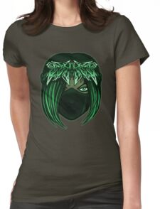 Wildstyle Crown -Green Womens Fitted T-Shirt