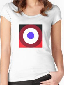 ABC Cafe Women's Fitted Scoop T-Shirt