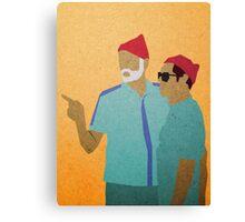 Zissou + Klaus Canvas Print