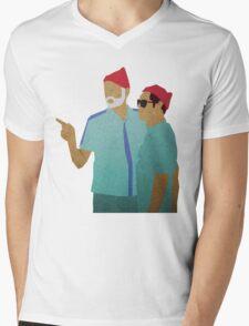 Zissou + Klaus Mens V-Neck T-Shirt